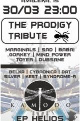 THE PRODIGY TRIBUTE+THE KAMODO ЕР